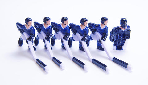 Full Team with Steel Rod attachment, Blue and White