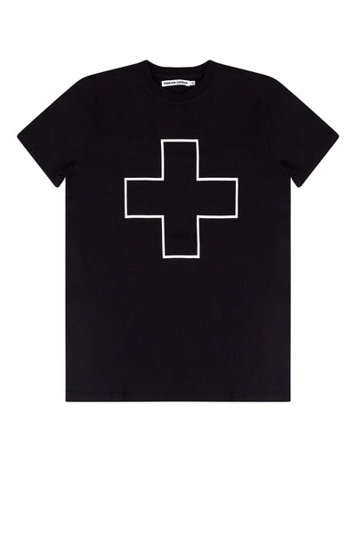 T-shirt Black/White Line