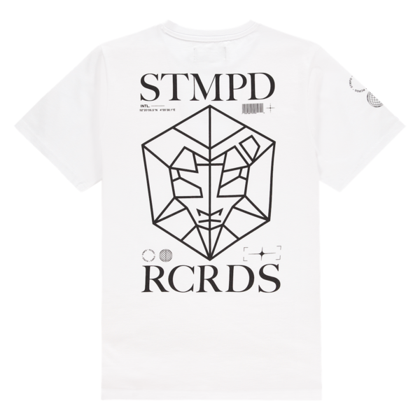 T-shirt STMPD White/Black