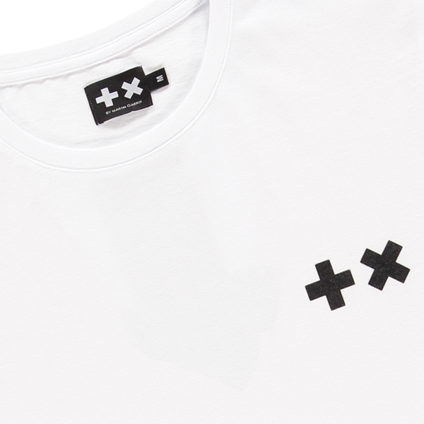 MG Taped Back Print (White/Black)