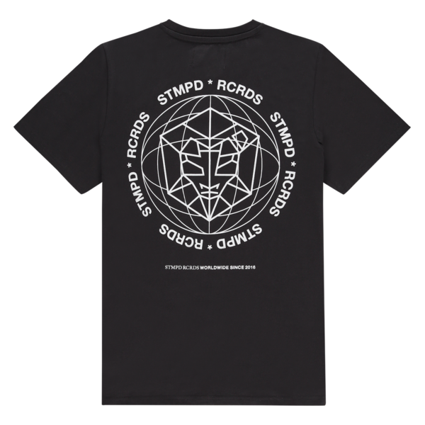T-shirt STMPD Round Black/White