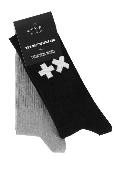 Black & Grey Socks (2-pack)