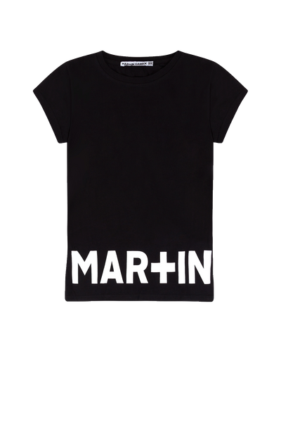 Girls - T-shirt Black/ Martin Garrix Print