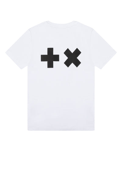 T-shirt White/Black MG Logo