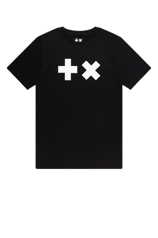 T-shirt Black/White Logo