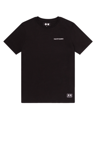 Kids T-shirt Black Taped Logo