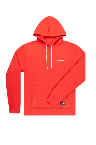 Hoodie Red/White MG Logo