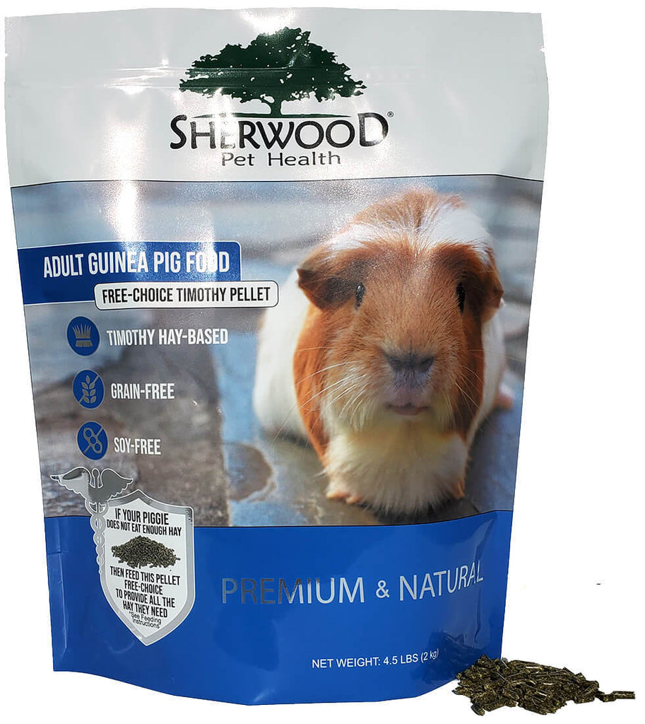 Free Choice Guinea Pig Pellets - Timothy Based