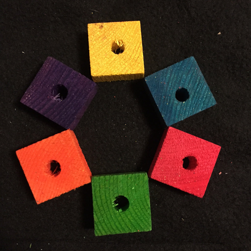 Small Wood Blocks