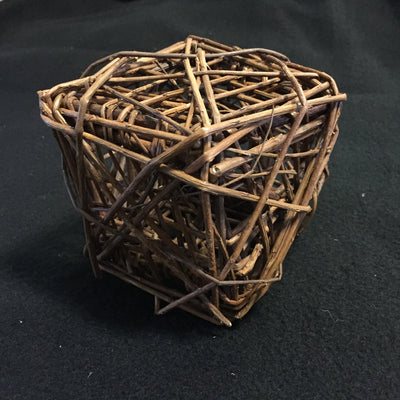 Unpeeled Willow Cube