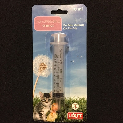 Lixit 10ml Handfeeding Syrings