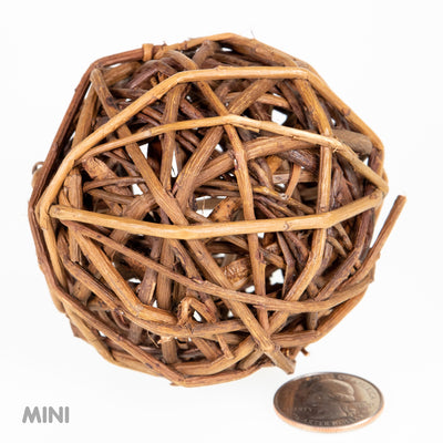 Mini Unpeeled Willow Ball