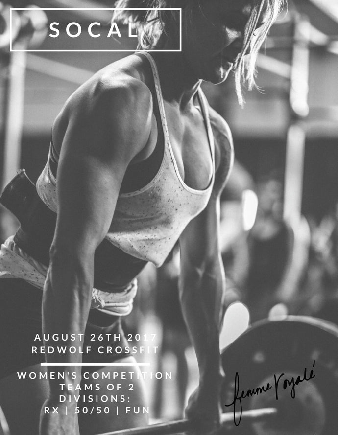 H+O Sponsors Barbell Bad-Ass Femme Royale Competitors