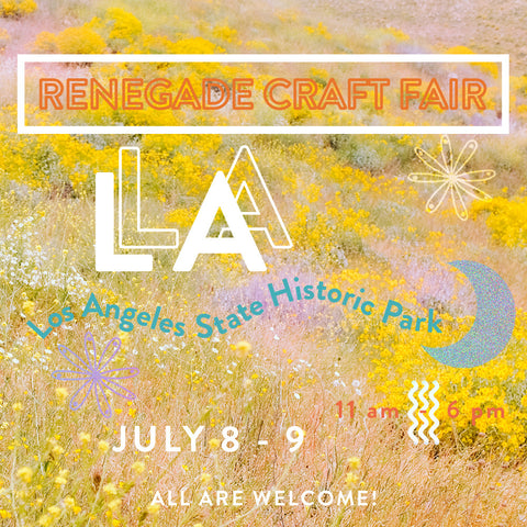 renegade craft fair losa angeles