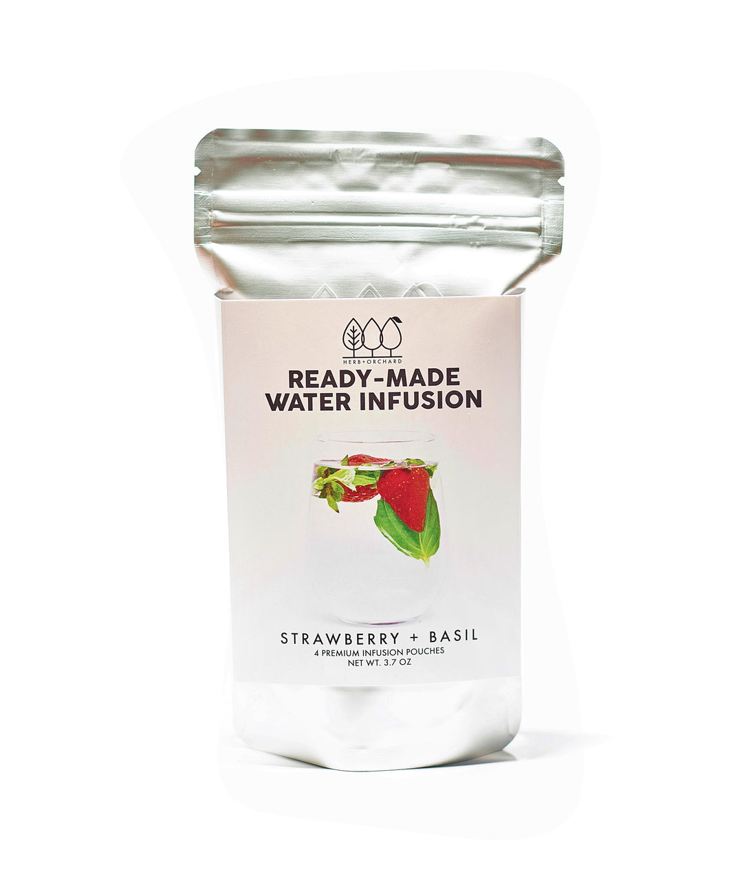 Ready-Made Water Infusion Pouches® - Strawberry + Basil