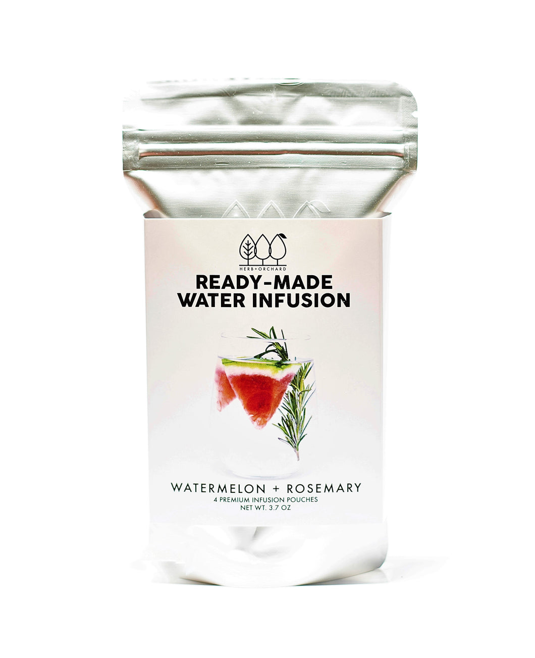 Ready-Made Water Infusion Pouches® - Watermelon + Rosemary
