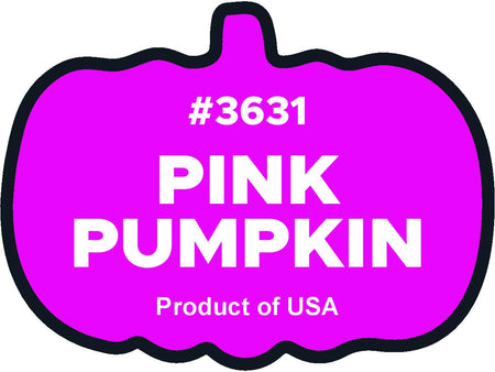 Pink Pumpkin 3631 Plu labels