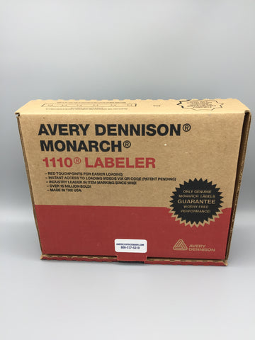 Avery Dennison Monarch 1110 price gun