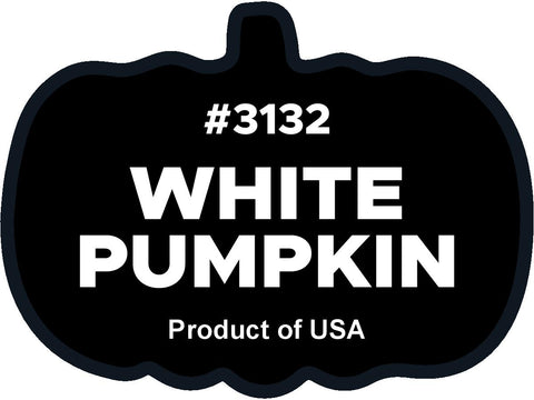 White Pumpkin 3132 plu label
