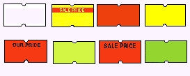 Towa Price Gun Labels