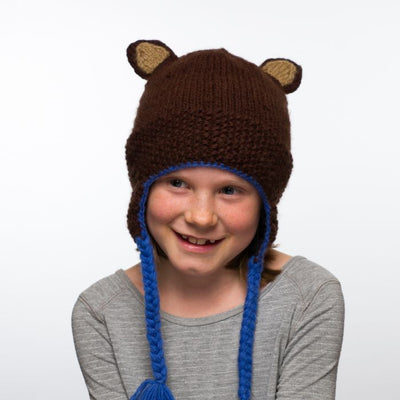 Ambler Forest Kid's Toque - Brown 2