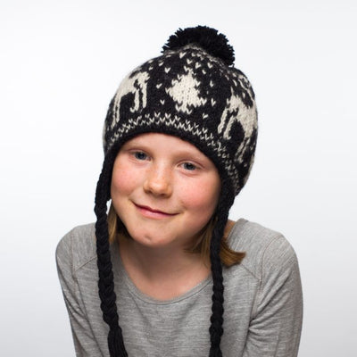 Ambler North Kid's Toque - Black 2
