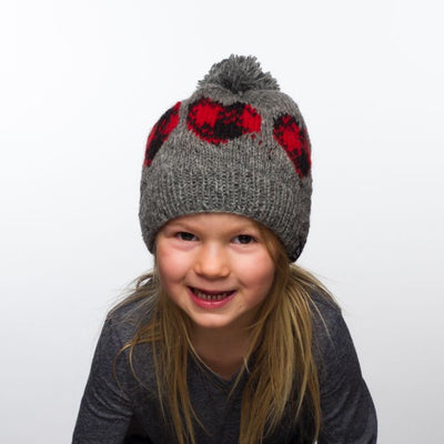 Ambler Cabin Kid's Toque - Heart 2