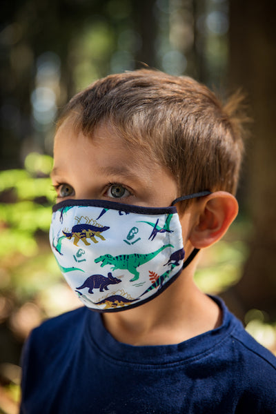 Ambler Kids Face Mask - Dino