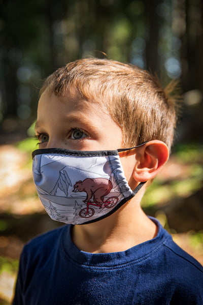 Ambler Kids Face Mask - Actimals - Boy