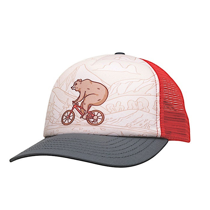 Ambler Actimals kids hat - Red