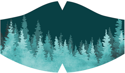 Ambler Treeline Emerald Face Mask