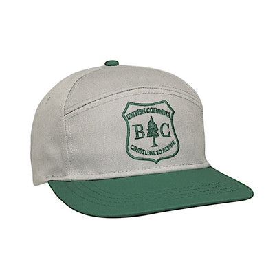 Ambler Best Coast Snapback Hat - Grey