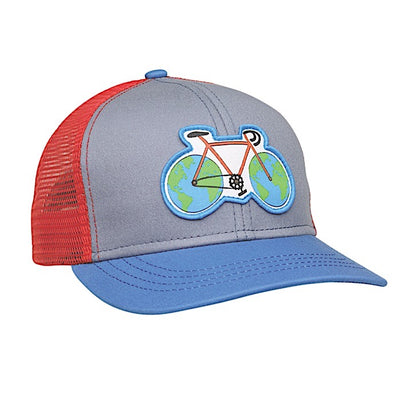 Earth Cycle kids hat - Royal