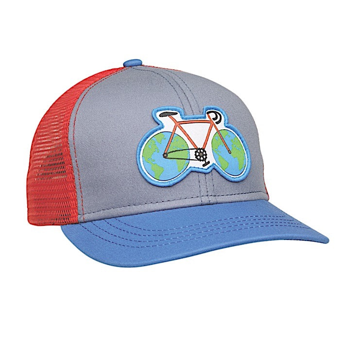 Earth Cycle kids hat - Green