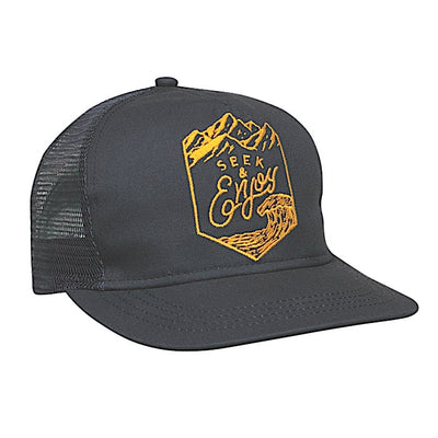 Ambler Enjoy Trucker Hat - Navy