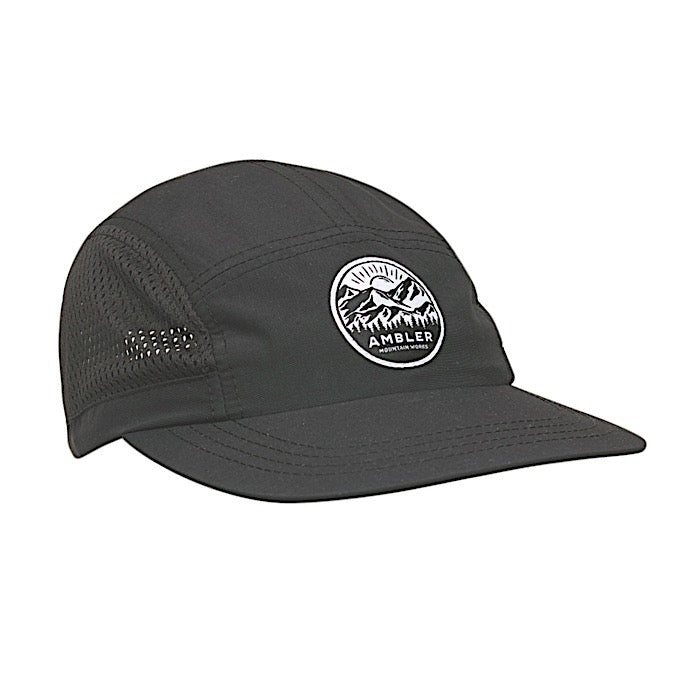 Ambler Ryder 5-panel Hat - Black