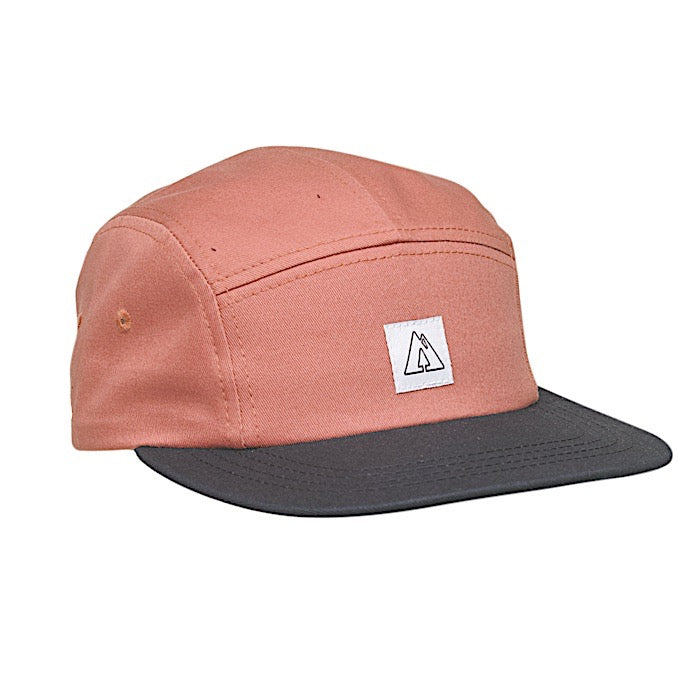 Ambler Scout 5 panel hat - Nautical Red