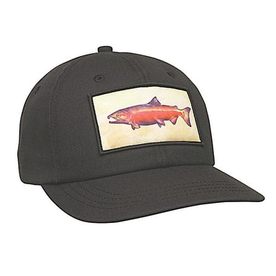 Ambler Trophy Snapback Hat - Black