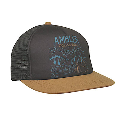 Ambler Vista Trucker Hat - Black