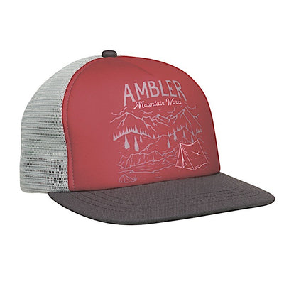 Ambler Vista Trucker Hat - Red