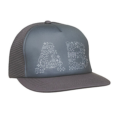 Ambler West Trucker Hat - Charcoal