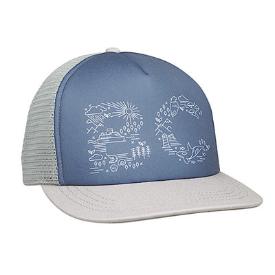 Ambler West Trucker Hat - Cloud