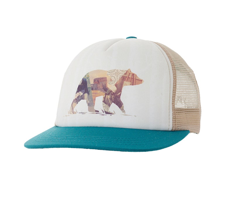Ambler Animal Spirit Trucker Hat - Bear