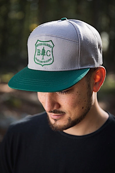 Ambler Best Coast Snapback Hat - Grey - Mens