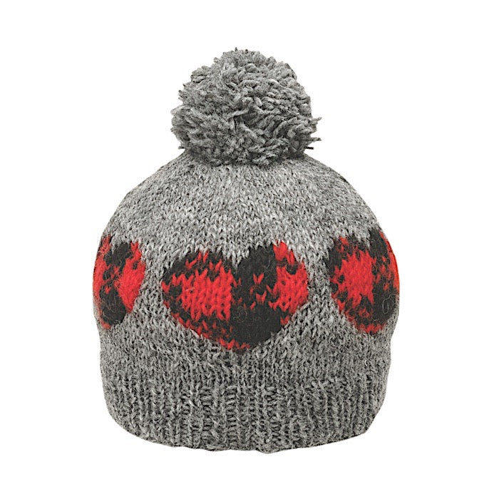 Ambler Cabin Kid's Toque - Heart