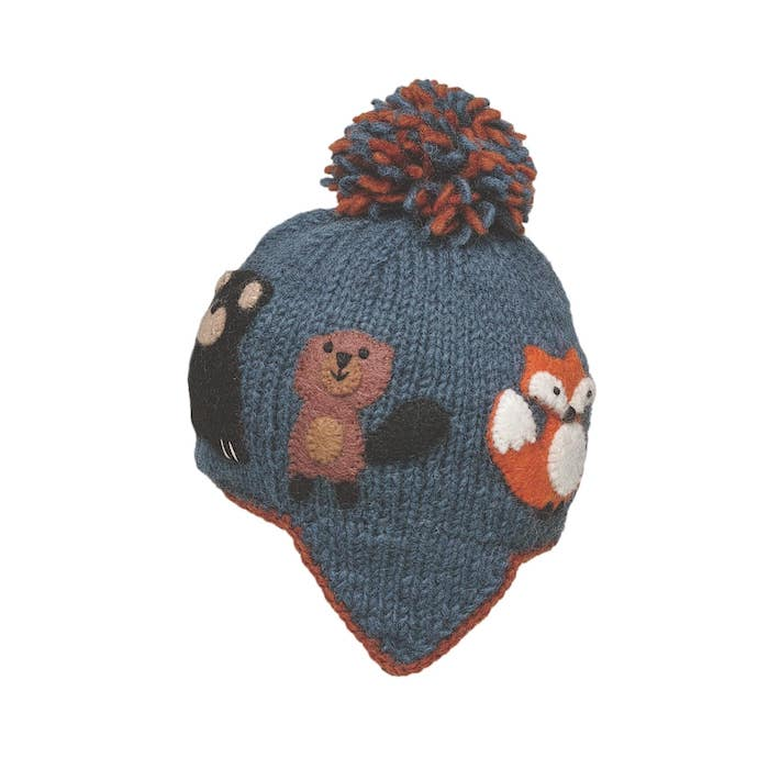 Ambler Canuck Kid's Toque - Denim
