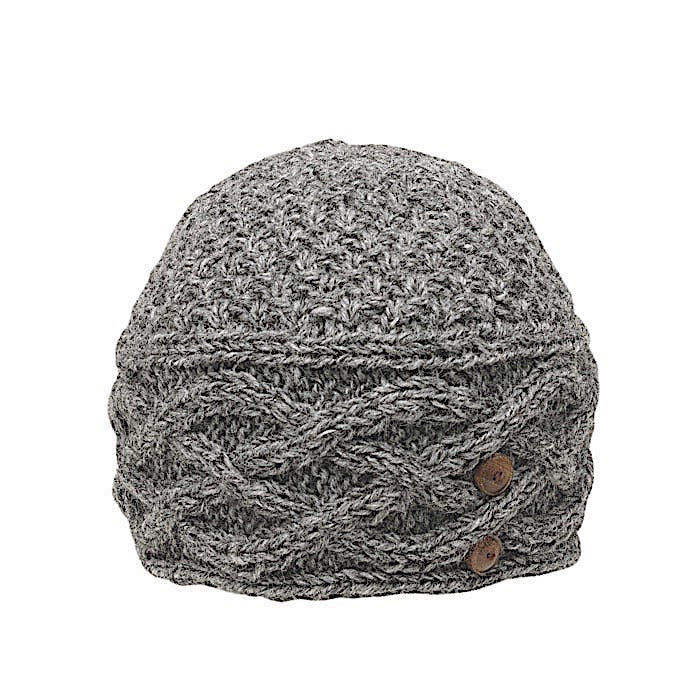 Ambler Celtic Women's Toque - Heather Charcoal