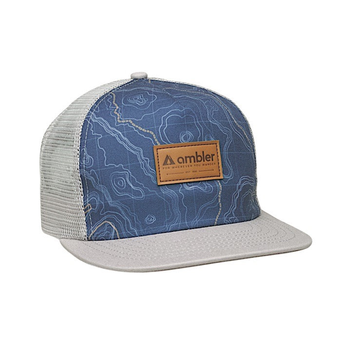 Ambler Contour Trucker Hat - Black