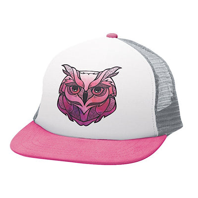 Ambler Faces kids hat - Owl
