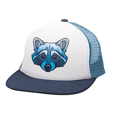 Ambler Faces kids hat - Raccoon